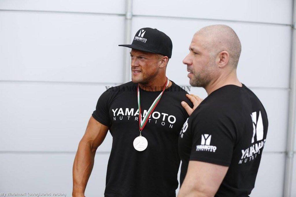 Републикански шампион и персонален фитнес инструктор в Пловдив Атанас Топузов