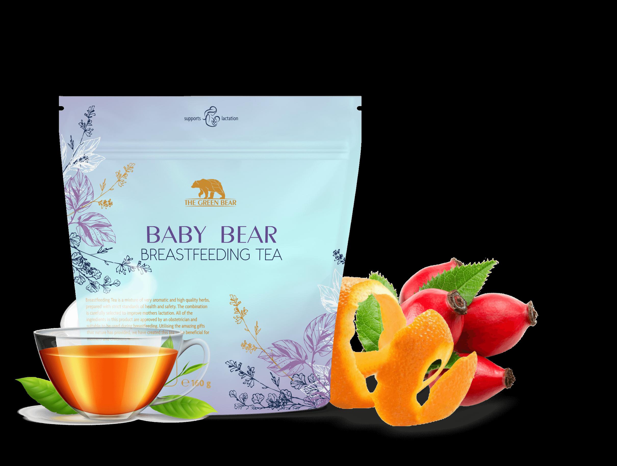Чай за кърмене Breastfeeding tea Baby Bear